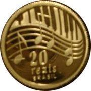 20 reais (Centenaire de Ary Barroso) – revers