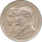 2000 réis (Centenaire de l'indépendance) -  avers