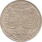 2000 réis (Centenaire de l'indépendance) -  revers