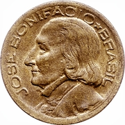 10 centavos - José Bonifacio -  avers