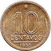 10 centavos - José Bonifacio -  revers