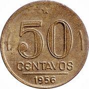 50 centavos - Dutra -  revers