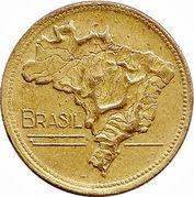 2 cruzeiros - Carte du Brésil -  avers