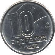 10 centavos - Prospecteur de diamants -  avers