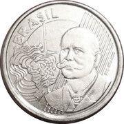 50 centavos Rio Branco (acier inoxydable) -  avers