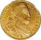 6400 Reis - João VI – avers