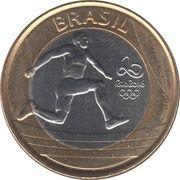 1 real (Jeux Olympiques, Rio 2016 - Athlétisme) -  avers