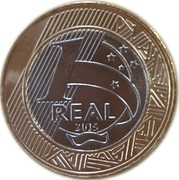 1 Real (Rio Olympics 2016 - Football) -  revers