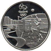 5 Reais (Jeux olympiques Rio 2016 - Volleyball / Chorinho) -  avers