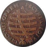 20 Réis - José I (Rio Mint) – revers