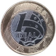 1 Real (Jeux Olympiques Rio 2016 - Paracanoë) -  revers