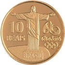 10 Reais (Jeux olympiques Rio 2016 - 100 mètres) – revers