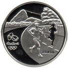 5 Reais (Jeux olympiques Rio 2016 - Course / Théâtre municipal) – avers