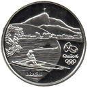 5 Reais (Jeux olympiques Rio 2016 - Rame / Pau-Brasil) – avers