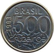 500 cruzeiros - Tortue de mer -  revers