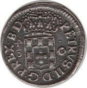 40 réis - Pedro II (atelier de Bahia) – avers