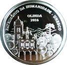 5 reais Olinda - UNESCO – avers