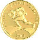 10 Reais (Jeux olympiques Rio 2016 - 100 mètres) – avers
