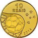 10 reais (Coupe du monde de football 2014) – revers