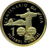 20 reais (Centenaire de la FIFA) – avers