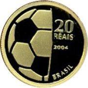 20 reais (Centenaire de la FIFA) – revers