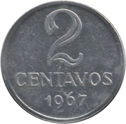 2 centavos -  revers