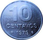10 centavos (Essai) – revers