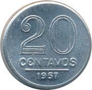 20 centavos (Aluminium) – revers