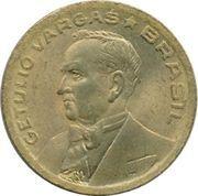 50 centavos - Vargas (Bronze aluminium) -  avers