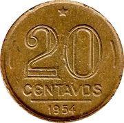 20 centavos - Ruy Barbosa -  revers