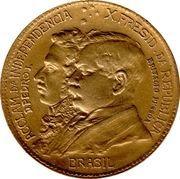 1000 réis (Centenaire de l'indépendance) -  avers
