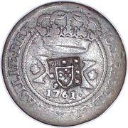 40 réis - José I (20 réis contremarquée) – avers