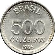 500 cruzeiros – revers