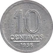 10 centavos (Aluminium) -  revers