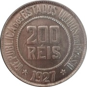 200 réis - Liberté -  revers