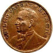 50 centavos - Vargas (Cupronickel) – avers