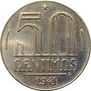 50 centimos (Essai, Getúlio Vargas) – revers