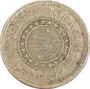 100 réis - Croix du Sud -  avers