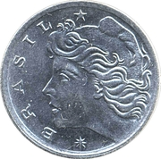 5 centavos FAO -  avers