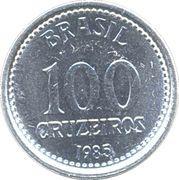 100 cruzeiros -  revers