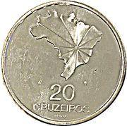20 cruzeiros (150 ans de l'indépendance, essai) – revers