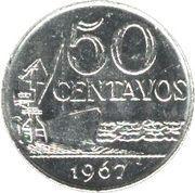 50 centavos - Cargo amarré (nickel) -  revers