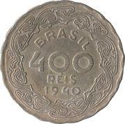400 réis - Getúlio Vargas -  revers