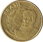 25 centavos - Deodoro da Fonseca -  avers