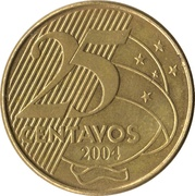25 centavos - Deodoro da Fonseca -  revers