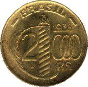 2000 réis - Caxias (Type polygonal) -  revers