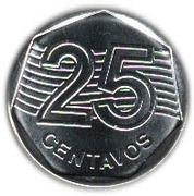 25 centavos FAO – revers