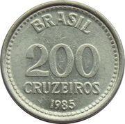 200 cruzeiros – revers