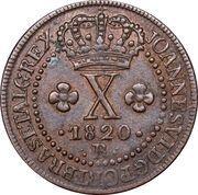 10 réis - João VI – avers