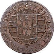 10 réis - João VI – revers